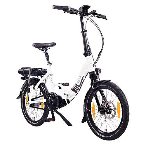 """NCM Paris MAX N8R / N8C E-Bike, E-Faltrad, 250W, 36V 14Ah 504Wh Akku, 20"""" Zoll"""