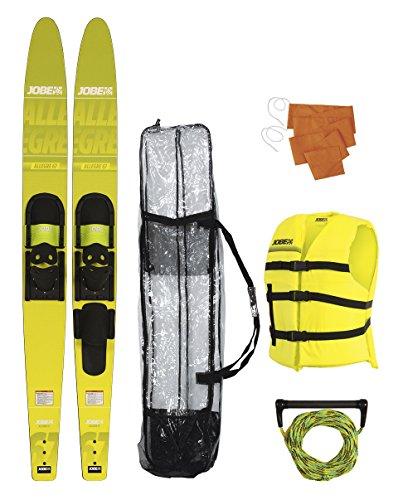 Jobe Allegre Paket Combo Wasserski, Gelb, 67 Zoll