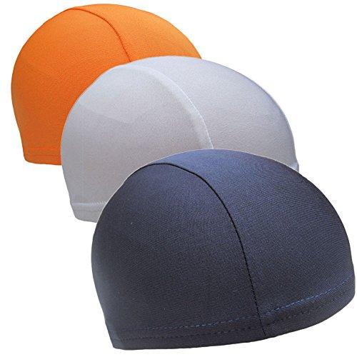 CHRISLZ Speed Dry Skull Cap Unter Radfahren Kopfbedeckungen Fahrrad Fleece Hut Sport Atmungsaktive Beanie (3-Color)