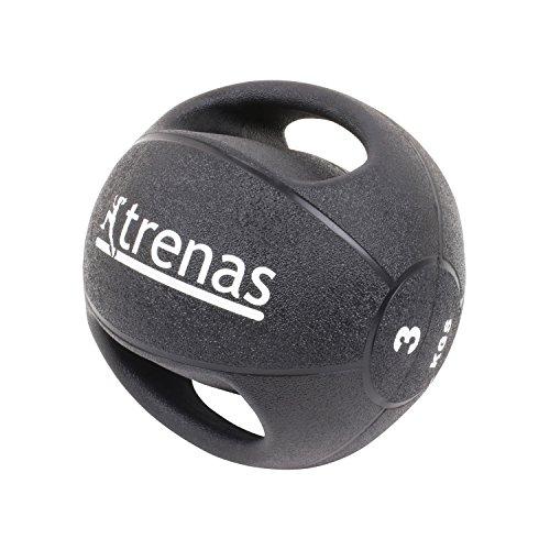 trenas Medizinball mit Handgriffen PRO - 3 kg