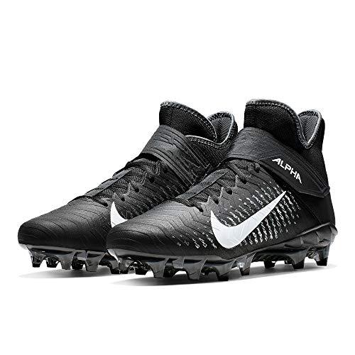 Nike Alpha Menace Pro 2 Mid American Football Rasen Schuhe - schwarz Gr. 11.5 US