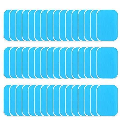 adakel 60 Stück EMS Gel Pad, EMS Muskelstimulator Ersatzteile für EMS Trainer Bauchtrainer Muskelstimulation Elektrostimulation, Abs Trainer Ersatz Gel Pad