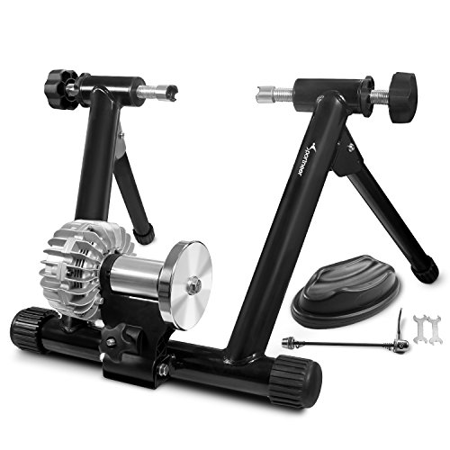 Sportneer Fahrrad Rollentrainer, Fluid Bike Trainer Ständer, Indoor Fahrrad Übungsständer