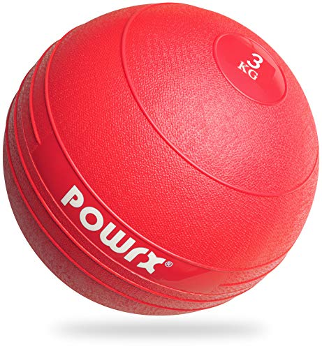 POWRX Slamball/Medizinball 3-20 kg (3 kg/Rot)