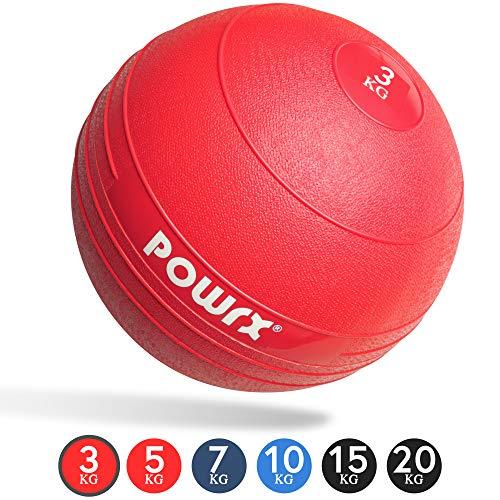 Slamball/Medizinball POWRX 3-20 kg (3 kg/Rot)
