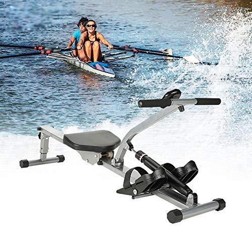 MJLXY Rowing Machine, Rudergerät, Fitnessgerät Für Zuhause Für Zuhause Klappbar Rudermaschine Digitalem Monitor