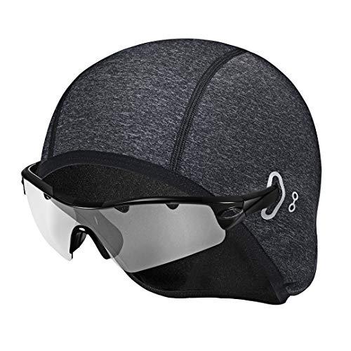 Collen Fahrrad Mütze, Helm-Unterziehmütze, Skull Cap, für herren damen, Winddicht/Atmungsaktiv/Dehnbar, Perfekt zum Reiten, Skifahren, Laufen