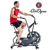 Schwinn Airdyne AD6, Fitnessbike mit grenzenlosem Luftwiderstand, LCD-Konsole, drahtlose Herzfrequenzmessung, max. Benutzergewicht 136 kg Fitnessbike mit grenzenlosem Widerstand
