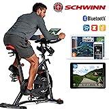 Schwinn Speedbike IC8 mit Bluetooth Indoor Cycle mit Magnetwiderstand, 100-fache Widerstandseinstellung mit Digitalanzeige, Zwift App. kompatibel, SPD-Klickpedale, max. Benutzergewicht 150 kg