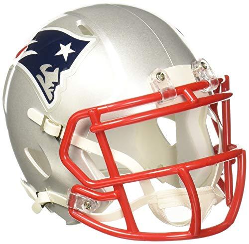 """Riddell Speed Mini Helm, New England Patriots, 7.5 x 6.5"""""""