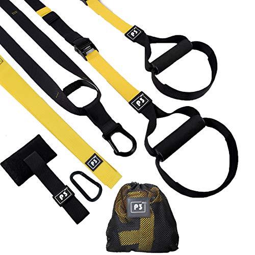 HOOMAGIC Schlingentrainer Set Sling Trainer Set mit Türanker Multifunktionaler Suspension Trainer Set Einstellbar Schlingentrainer für Zuhause und Außenbereich Ganzkörpertraining