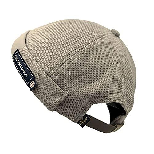 Clape Cotton Skull Cap Commando Docker Leon Watch Cap Breathable Mesh Design Retro Brimless Beanie Hat Unisex