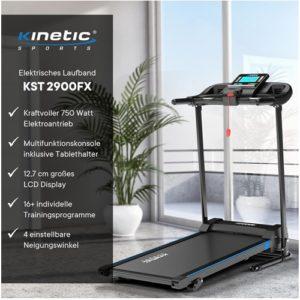 Kinetic Sports KST2900FX Laufband Test