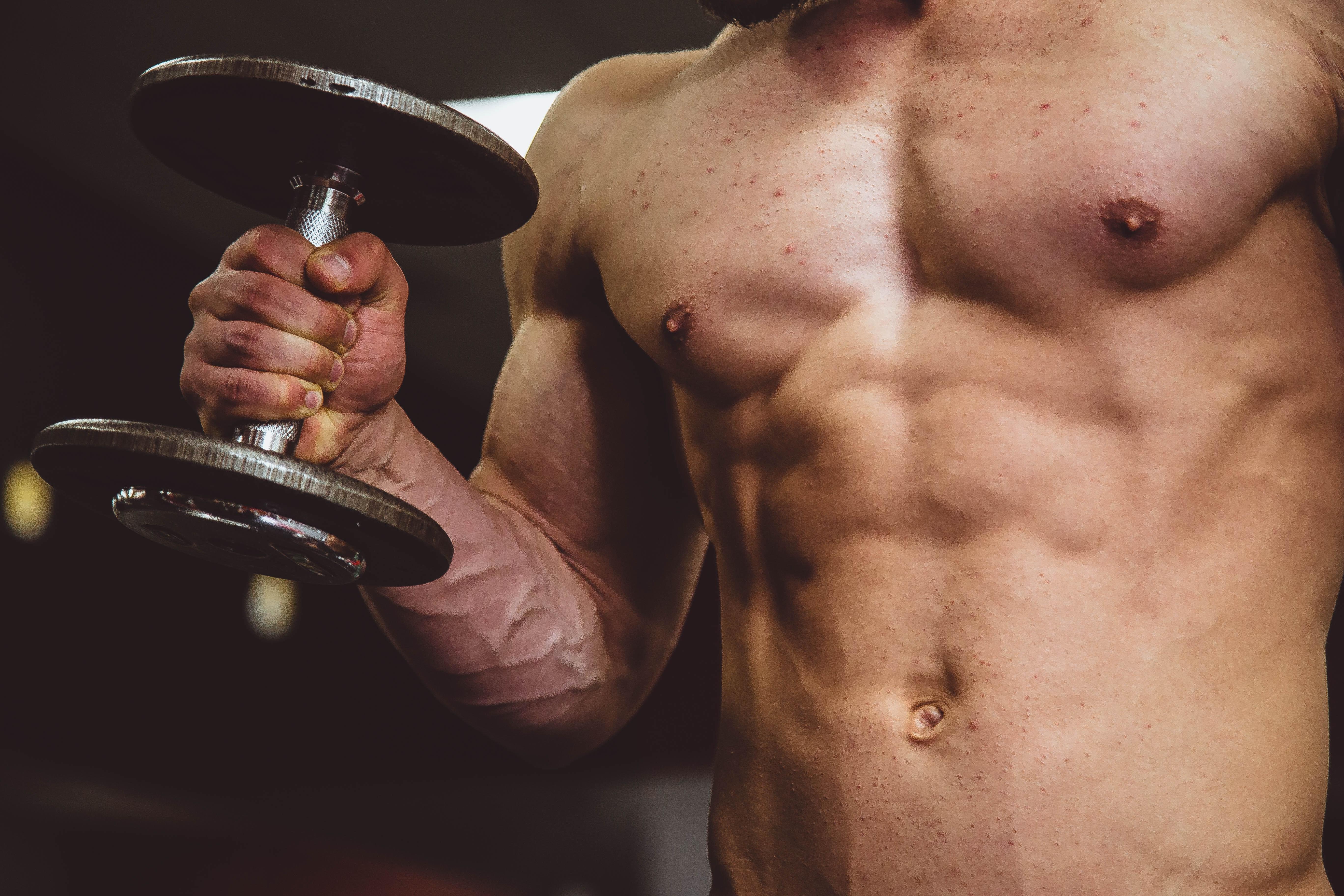 Muskeln eines Mann